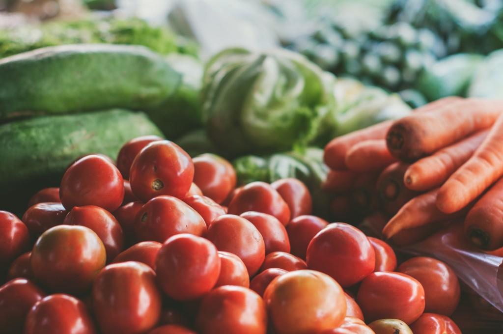 Zelenina a ovoce pro kondici